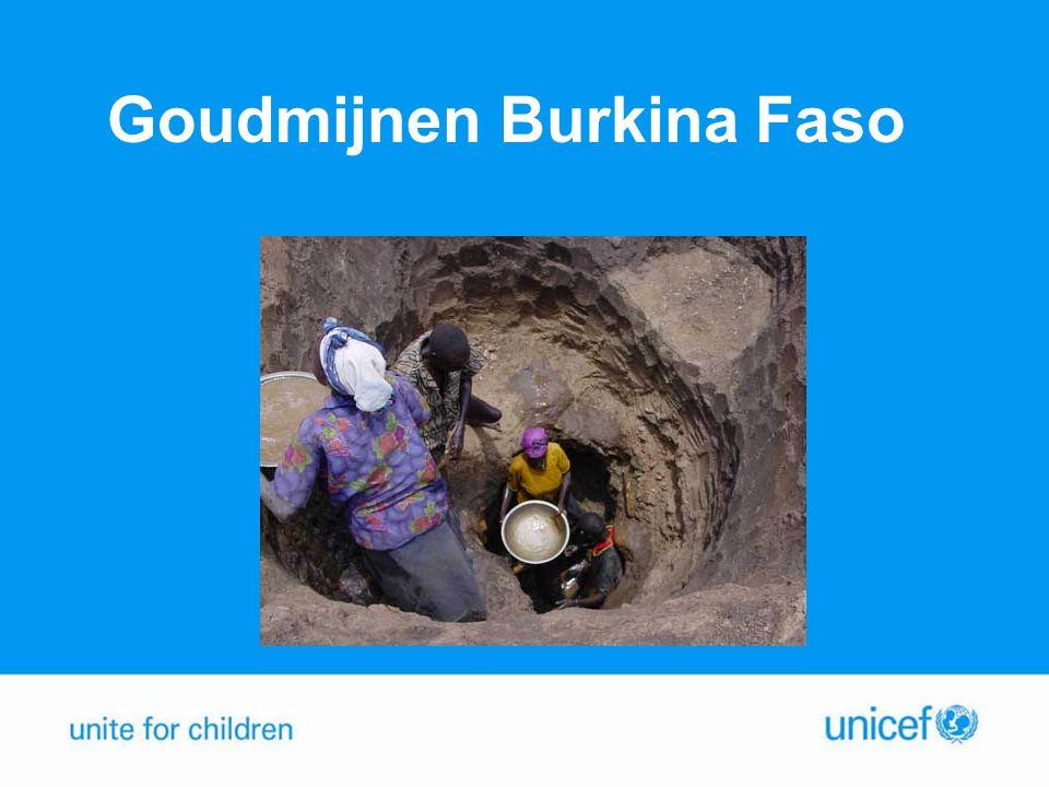 Goudmijnen Burkina Faso