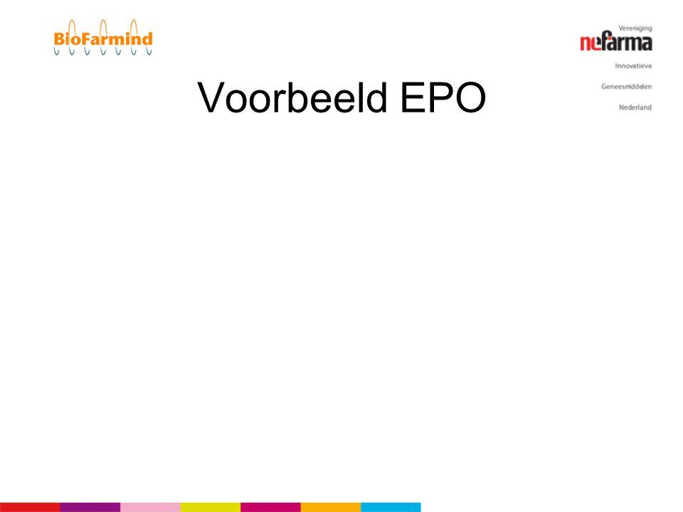 Voorbeeld EPO