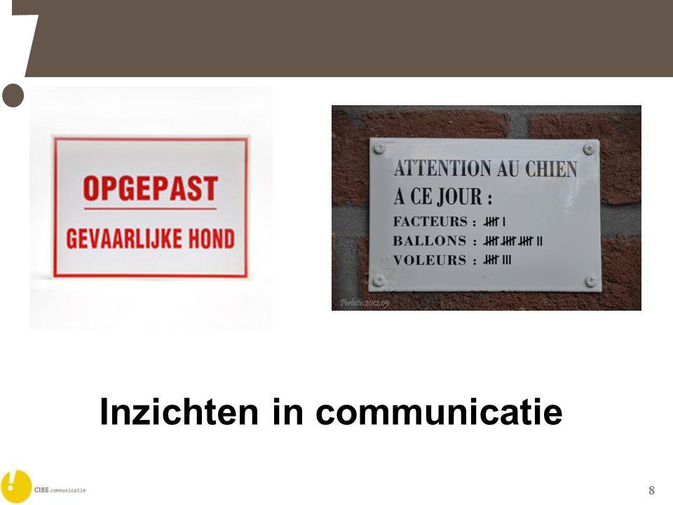 8 Inzichten in communicatie