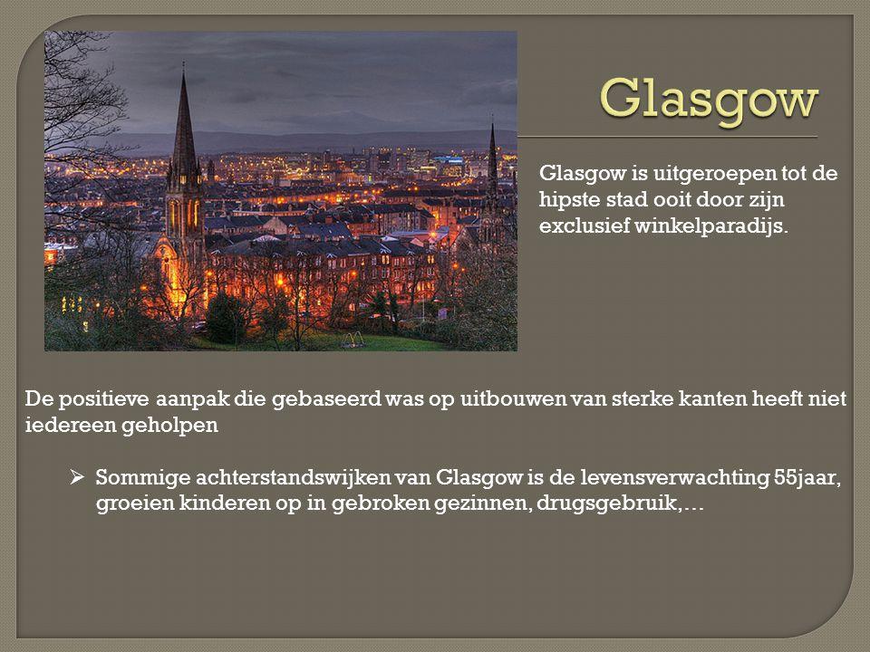 Glasgow is uitgeroepen tot de hipste stad ooit door zijn exclusief winkelparadijs.