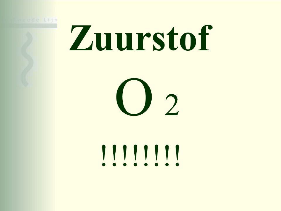 Zuurstof O 2 !!!!!!!!