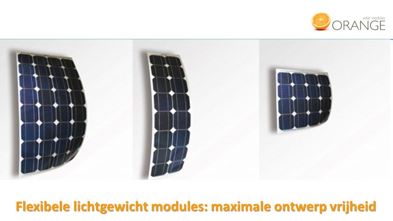 Flexibele lichtgewicht modules: maximale ontwerp vrijheid