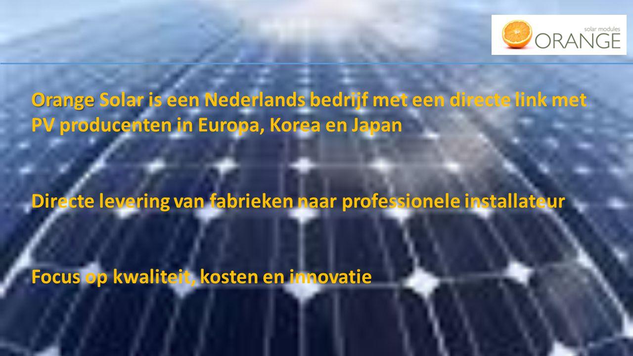 Kosten range zonnestroom