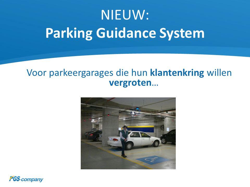 Bezoekers leggen 35% minder afstand af Dus een efficiëntere bezetting van de parkeerplekken