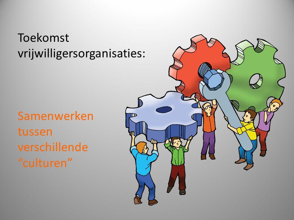 """Toekomst vrijwilligersorganisaties: Samenwerken tussen verschillende """"culturen"""""""