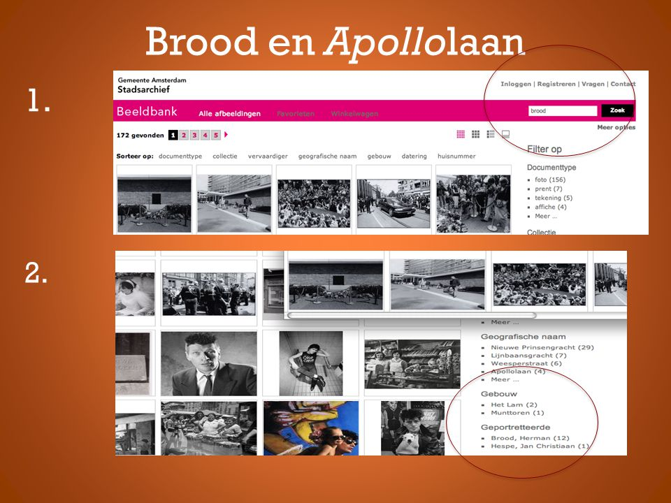 Brood en Apollolaan 1. 2.