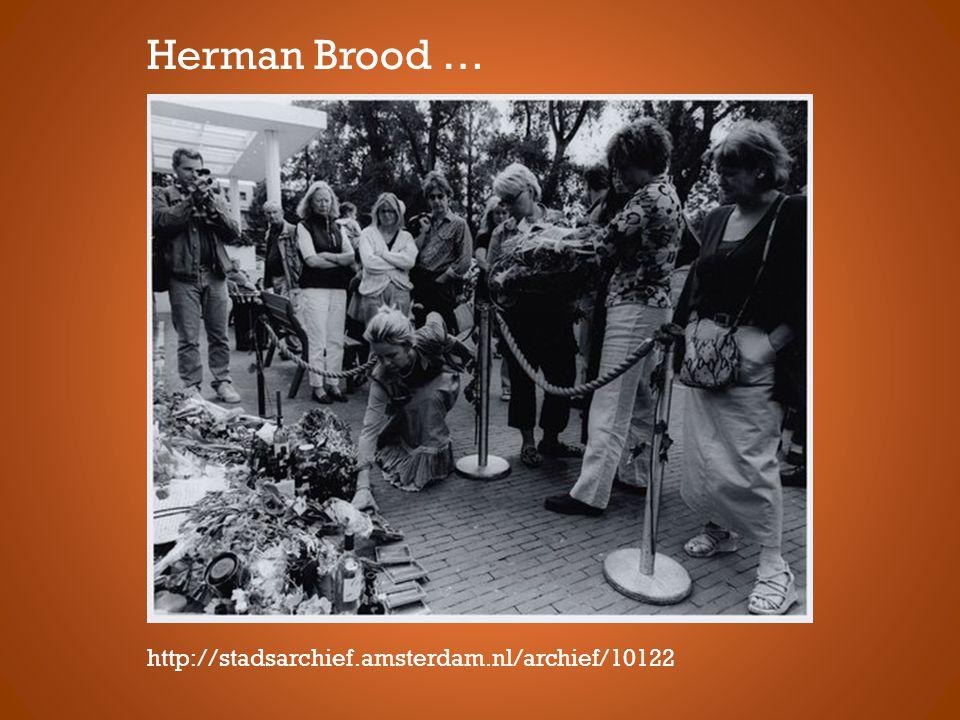 http://stadsarchief.amsterdam.nl/archief/10122 Herman Brood …