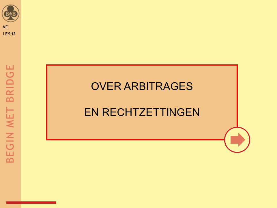 VC LES 12 OVER ARBITRAGES EN RECHTZETTINGEN