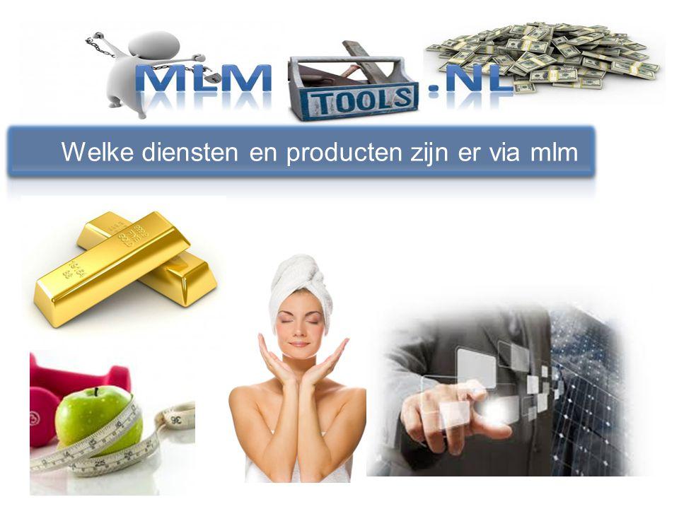 Gestart in Januari 2014 Wat is mlm tools Eigen producten en diensten voor netwerkers Samenwerkingsverband met mlm concepten Een onafhankelijke training in mlm Tools voor elk mlm bedrijf Eigen verdien model