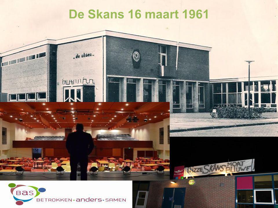 Opening Klaas de Boer - BAS Toekomst de Skâns - Ina Wolting Behoud de Skâns - Gastspreker Luit Beenen Pauze Discussie - Gespreksleider Bauke van der Werf Programma Burgercafé