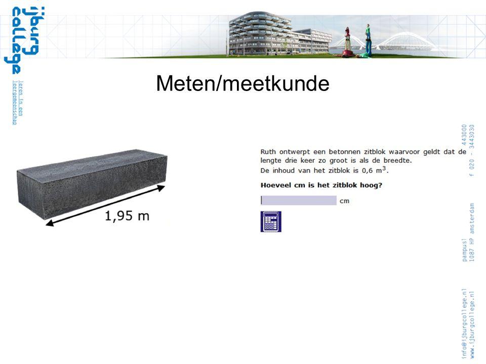 Meten/meetkunde