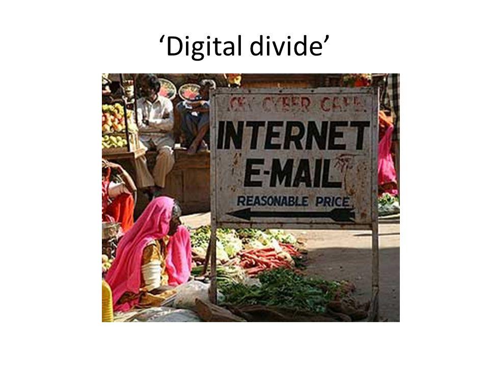 'Digital divide'