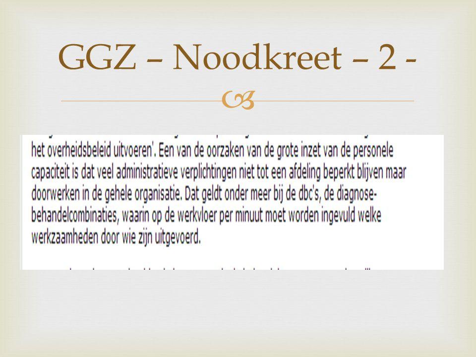  GGZ – Noodkreet – 2 -