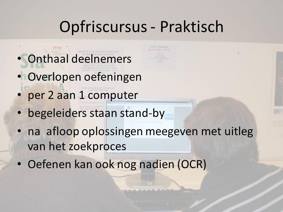 Tax on web – 2009 en 2010 • Jan Viaene, FOD Financiën • gebruik van de EID, my minfin en tax on web • gratis kaartlezer • Groot succes (werd dus herhaald) • OCR - computer met kaartlezer