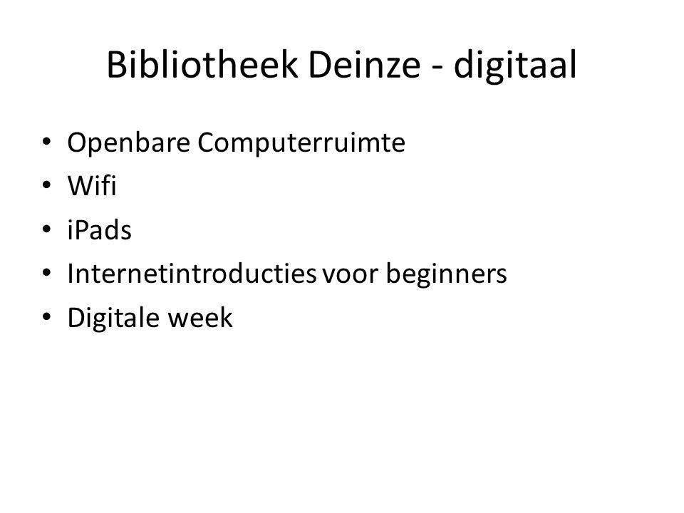 Openbare Computerruimte (OCR) Nieuwsblad-site, 3 februari 2009