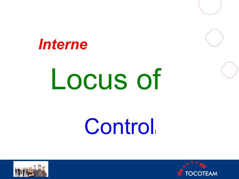 Interne Locus of Control l