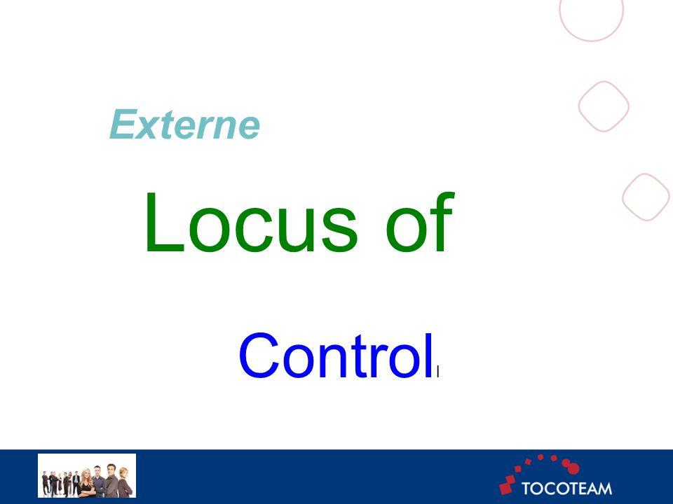 Externe Locus of Control l