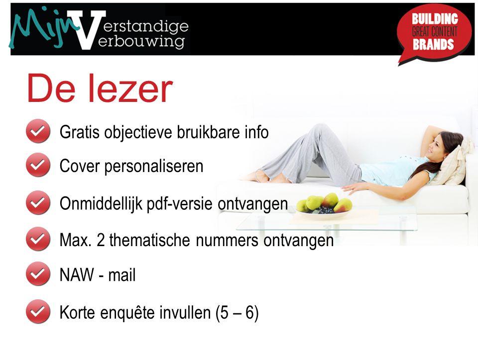 Gratis objectieve bruikbare info Cover personaliseren De lezer Onmiddellijk pdf-versie ontvangen Max.