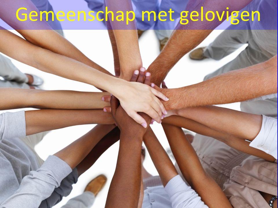 Gemeenschap met gelovigen