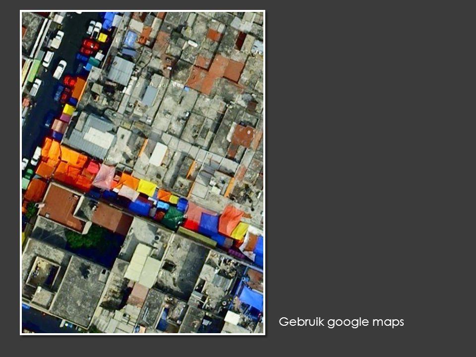 Gebruik google maps