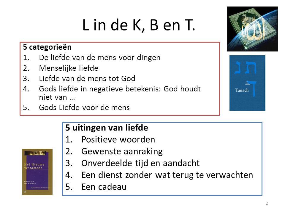 L in de K, B en T.
