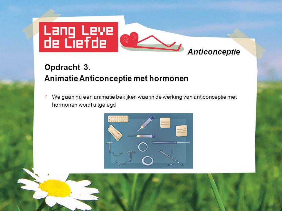 Anticonceptie Opdracht 4.
