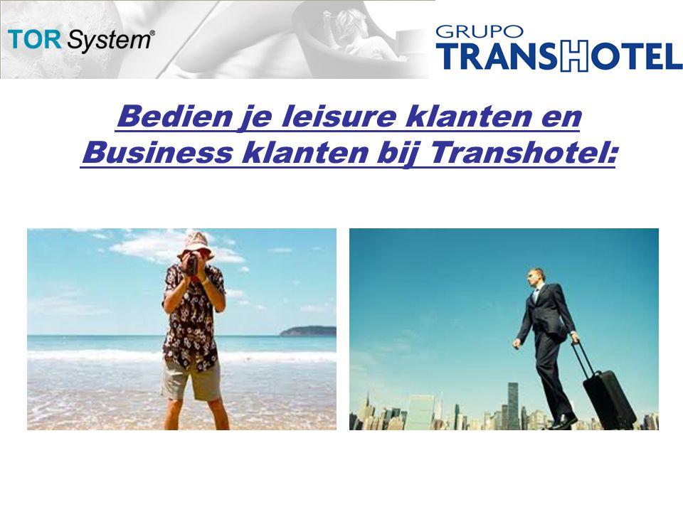 Bedien je leisure klanten en Business klanten bij Transhotel: