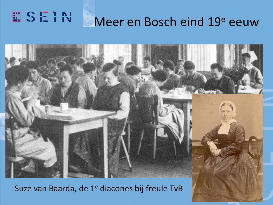 Suze van Baarda, de 1 e diacones bij freule TvB Meer en Bosch eind 19 e eeuw
