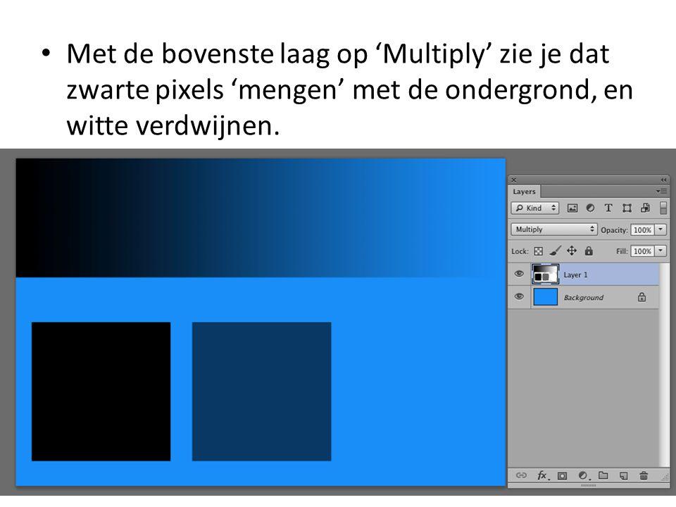 • Je kan contrasten en donkere partijen in een foto 'aandikken' met deze modus, door bijvoorbeeld.