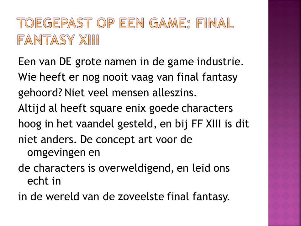 Een van DE grote namen in de game industrie. Wie heeft er nog nooit vaag van final fantasy gehoord? Niet veel mensen alleszins. Altijd al heeft square