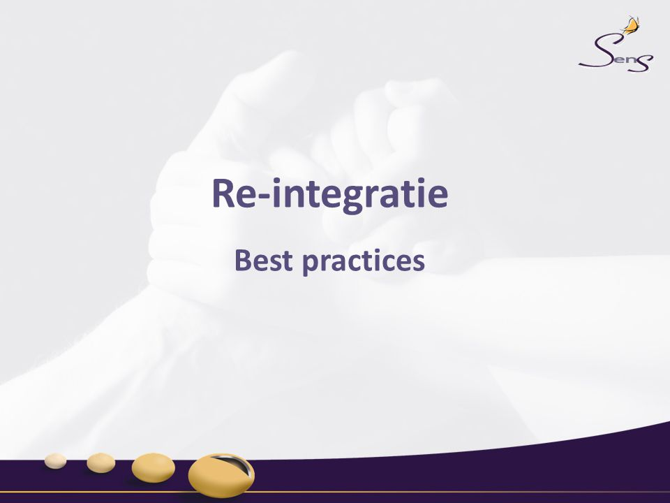 Re-integratie Best practices
