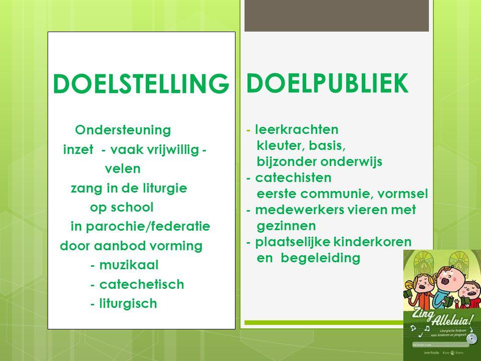 TOELICHTING PROJECT 2009 - 2010 ° Samenwerking : bisdom Hasselt- Averbode (P.