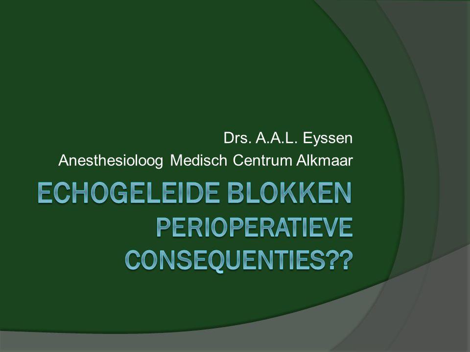 Drs. A.A.L. Eyssen Anesthesioloog Medisch Centrum Alkmaar