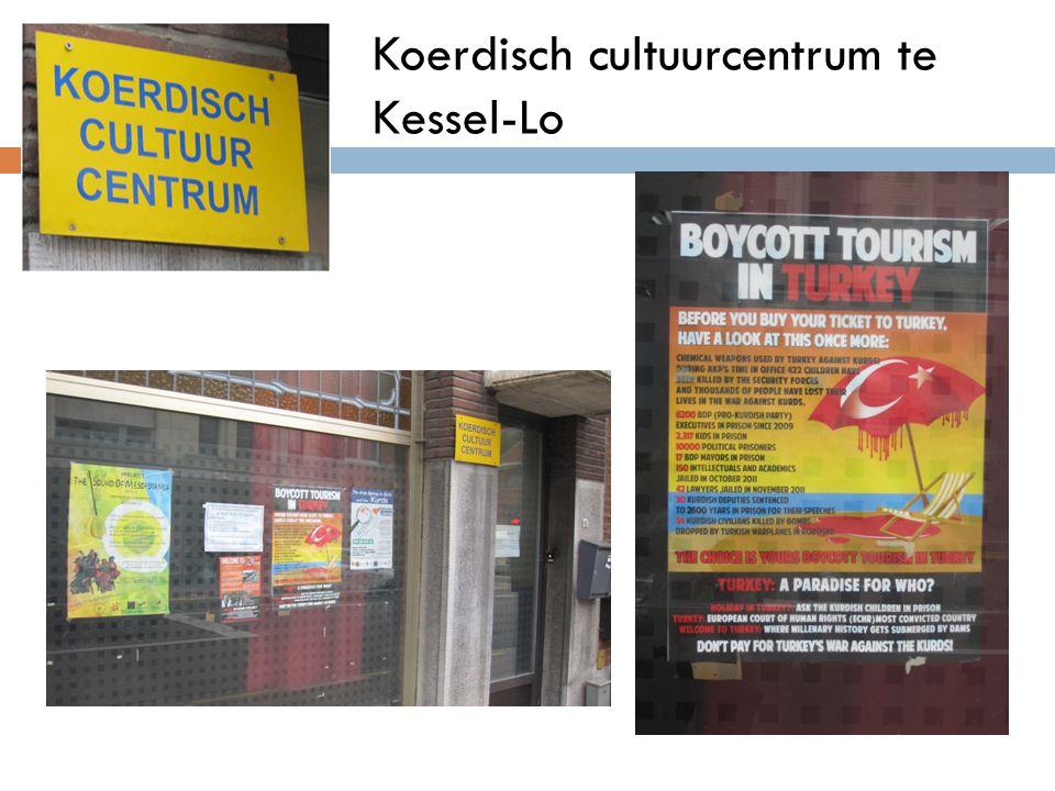 Koerdisch cultuurcentrum te Kessel-Lo