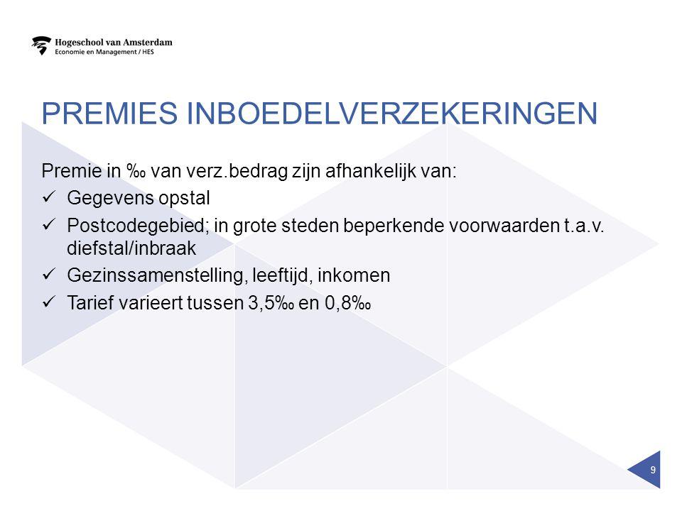 VERVOLG RENTEVERZEKERINGEN Lijfrenteverzekeringen kunnen worden verdeeld in: 1.Lijfrente op één leven (uitkering bij leven) 2.Nabestaandenlijfrente, lijfrente wordt uitgekeerd bij overlijden van de verzekerde ten behoeve van de nabestaande 3.Lijfrente op twee levens, lijfrente wordt uitgekeerd zolang de verzekerde en/of nabestaande in leven zijn/is.