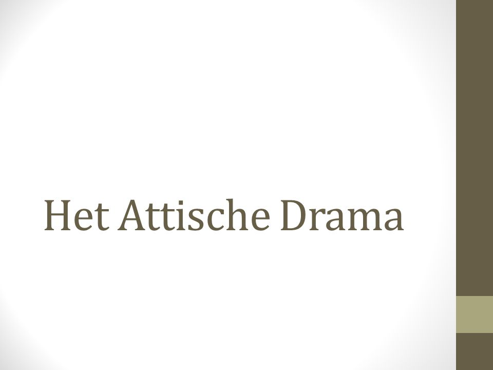 Belangrijke thema's • Hamartia: fout/vergissing/schuld die fataal blijkt te zijn en leidt tot een desis (knoop of crisis).