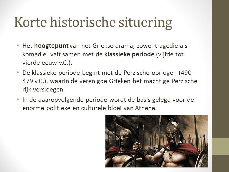 Aristofanes • Aristofanes is de enige comicus uit de klassieke periode van wie volledige stukken bewaard bleven.
