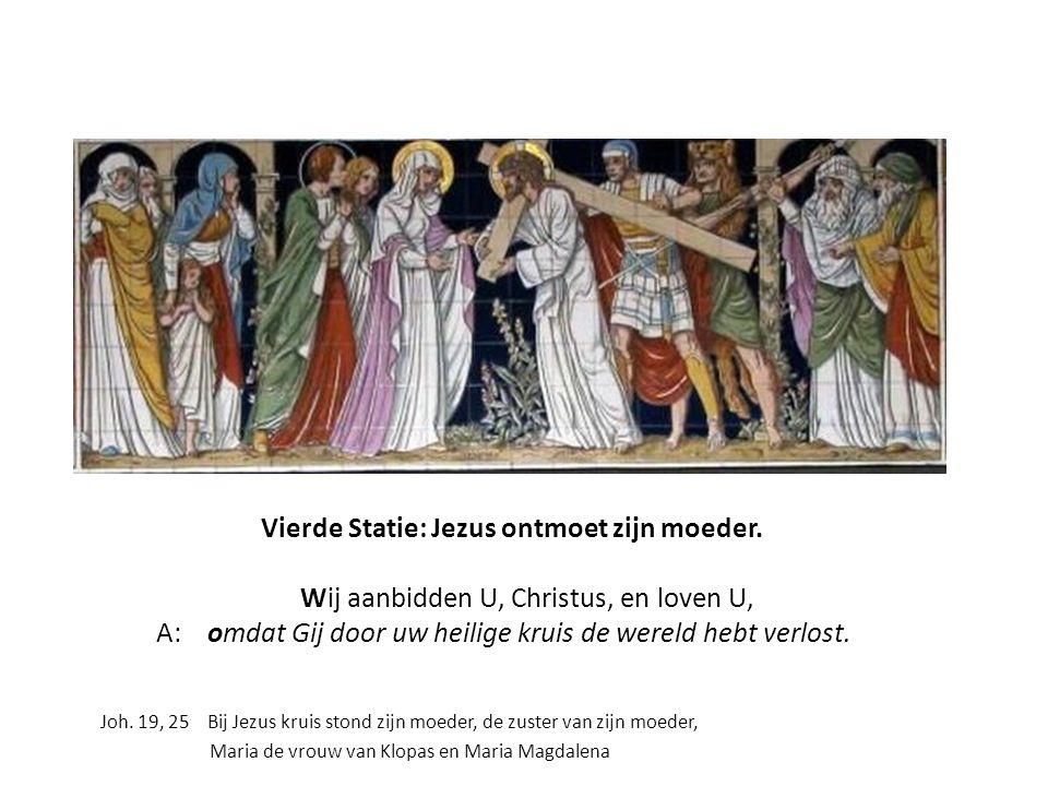 Vierde Statie, linkerpaneel (Gen. 21,8-21) Hagar en Ismaël in de woestiijn