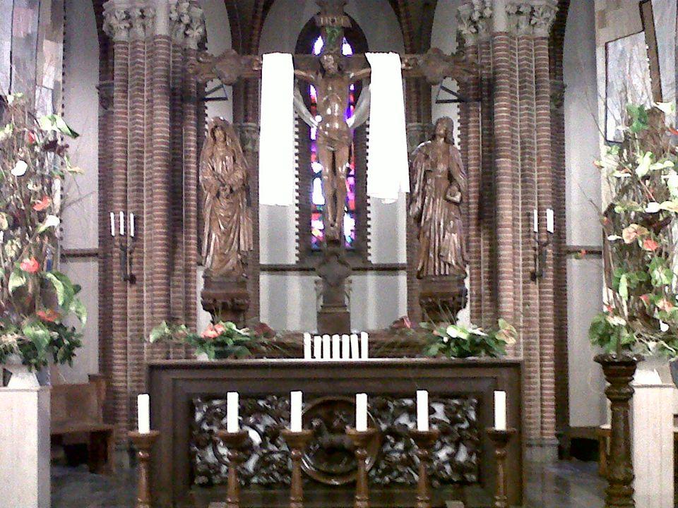 Slotgebed Wij bidden dat wij door het lijden en sterven van Christus gebracht worden tot de glorie van zijn verrijzenis. Loven wij de Heer. Wij danken