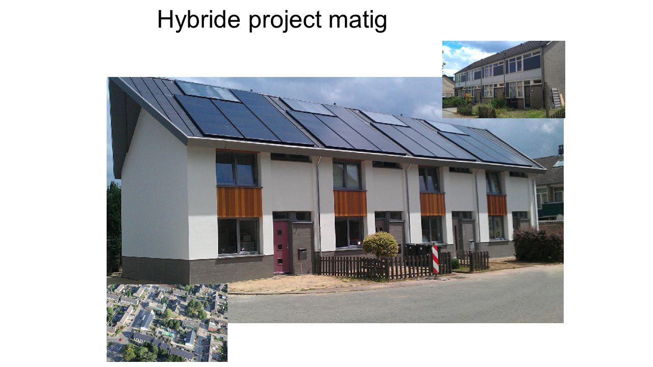 Hybride project matig