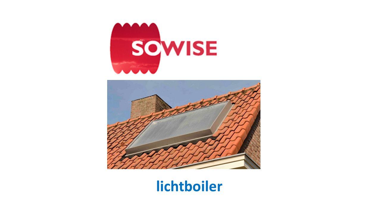 • Leo van Rooij • Doorontwikkeling van een innovatief ontwerp voor een zonneboiler • Sinds 2013 op de markt onder de merknaam SOWISE®