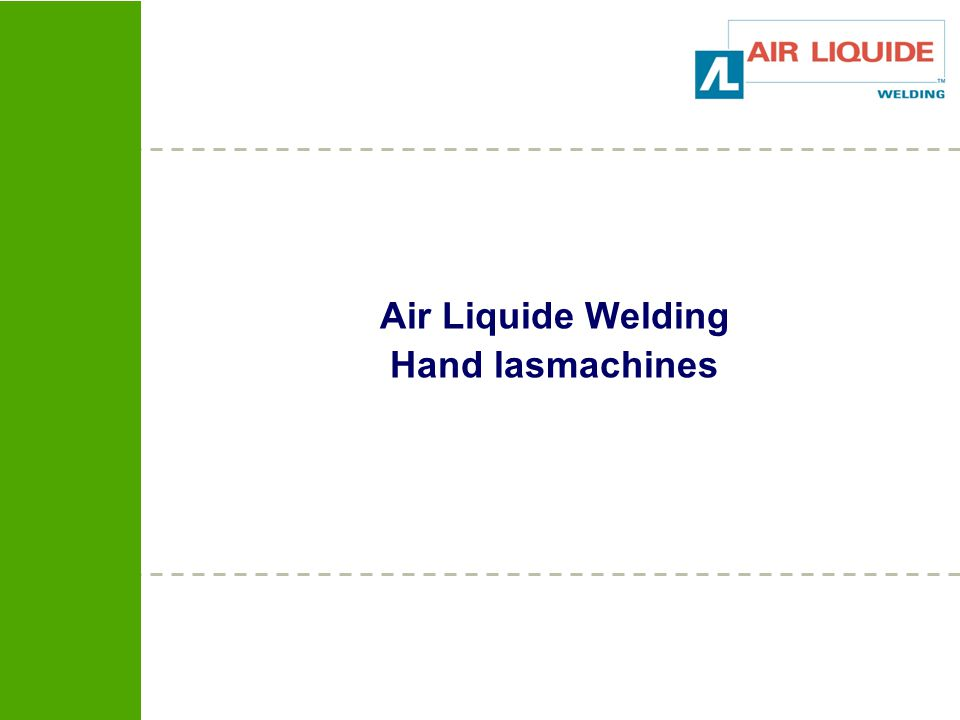 Air Liquide Welding Hand lasmachines