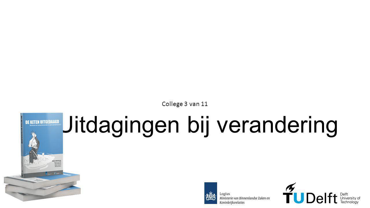 2. Uitdagingen bij verandering College 3 van 11