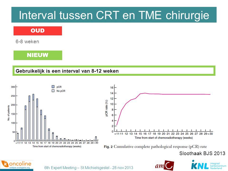 6th Expert Meeting – St Michielsgestel - 28 nov 2013 Bij distaal gelegen tumoren: laag anterieure resectie met distale marge van 1-2 cm.