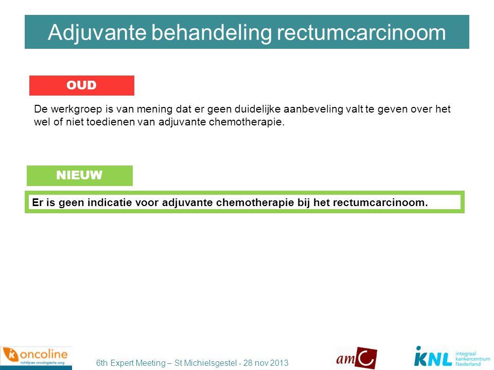 6th Expert Meeting – St Michielsgestel - 28 nov 2013 DISCUSSIE