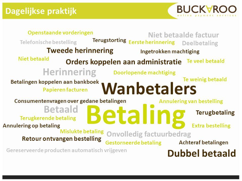 Het volledige proces Klant acceptatie* Abonnement (abonnee, verzekeringnemer, lid, etc.) Periodieke facturen www.myxx.nl (portaal met o.a.