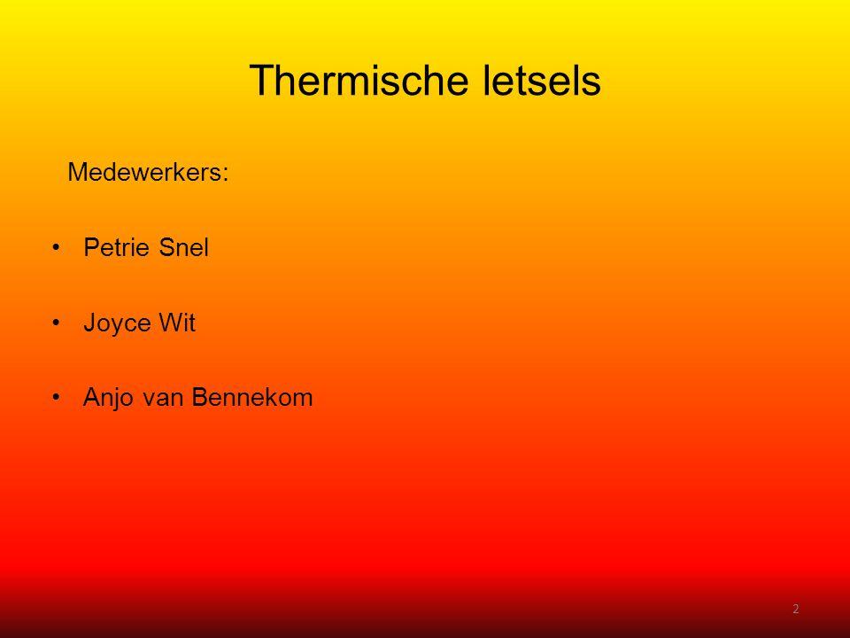 Medewerkers: •Petrie Snel •Joyce Wit •Anjo van Bennekom 2