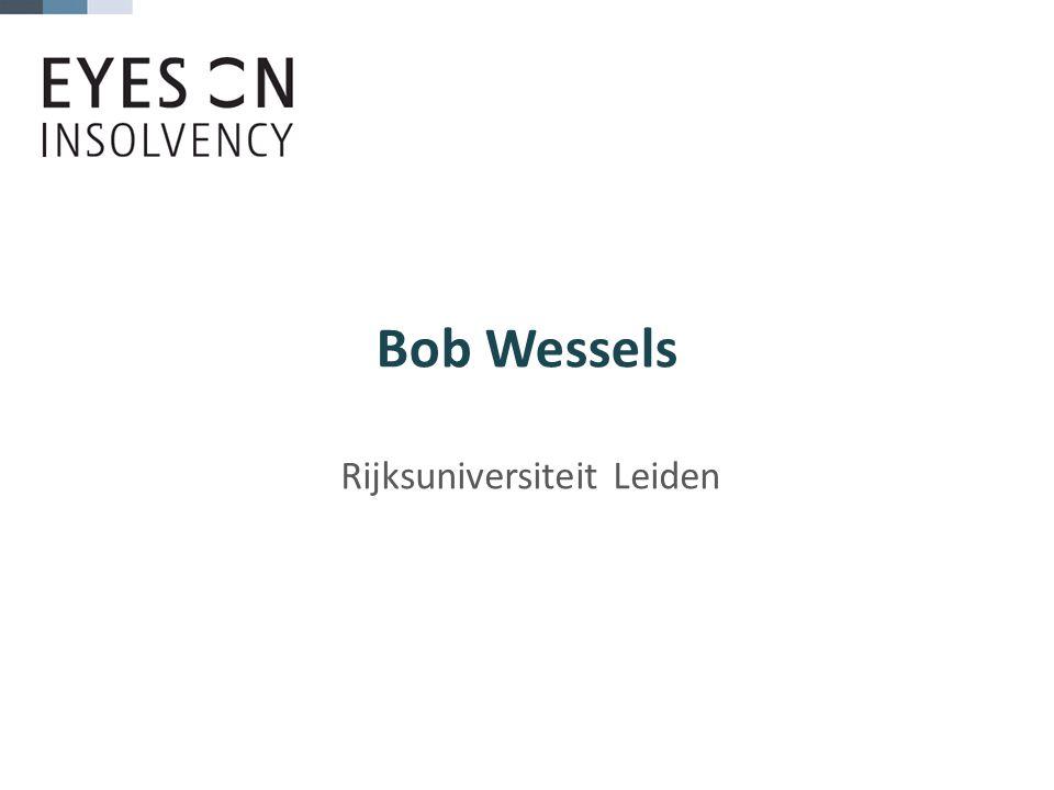Bob Wessels Rijksuniversiteit Leiden