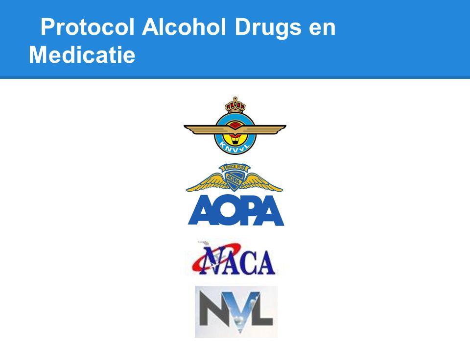 Protocol Alcohol Drugs en Medicatie