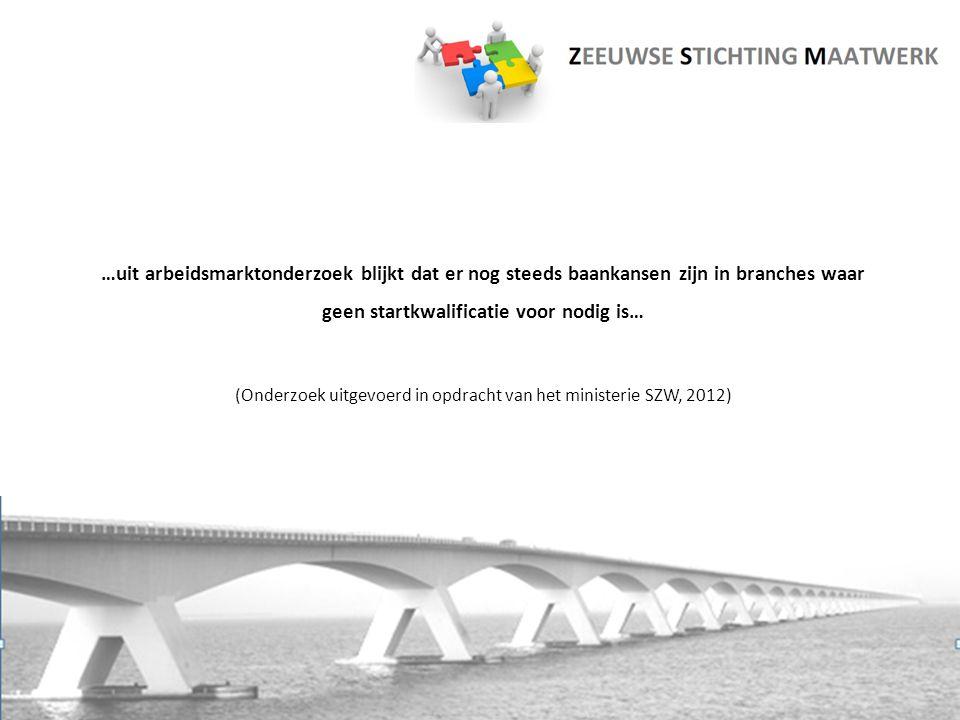 Aanleiding en ontstaansgeschiedenis  Toeleiding van jongeren uit PrO en VSO naar werk  Krachten bundelen  'Pro-actief Bruggen Bouwen'  Zeeuwse Stichting Maatwerk vanaf 21 juli 2011